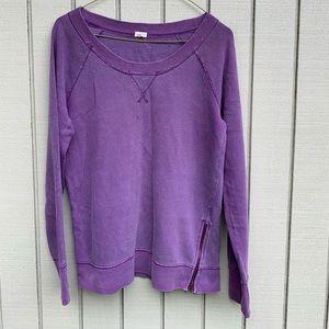 J. Crew Purple Sweatshirt Top